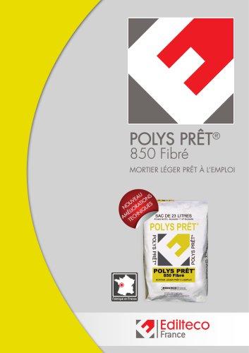 Documentation POLYS PRÊT 850 Fibré