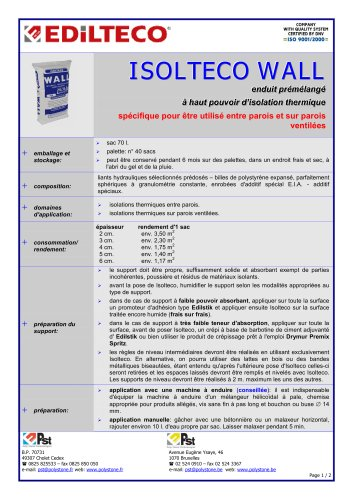 ISOLTECO® WALL