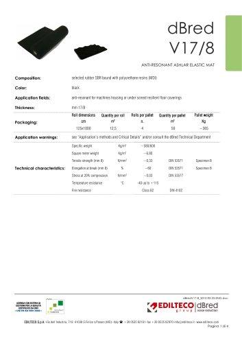 Technical data sheet dBred V17/8