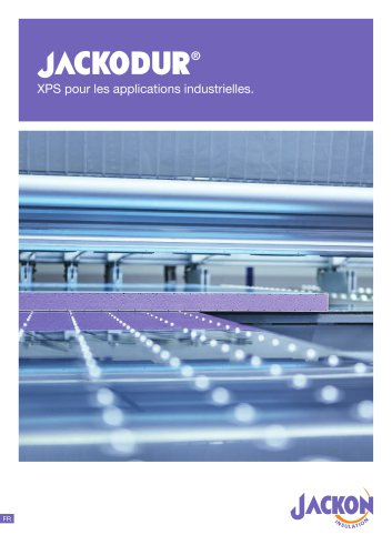 JACKODUR XPS pour les applications industrielles.