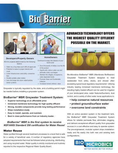 BioBarrier® MBR