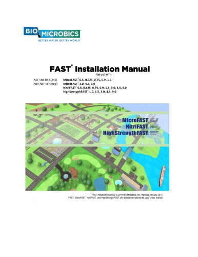 FAST®  Installation Manual