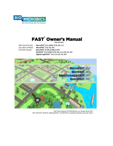 FAST®  Owner's Manual