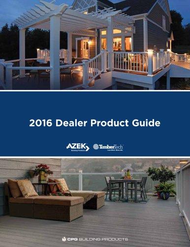 2016 Dealer Product Guide