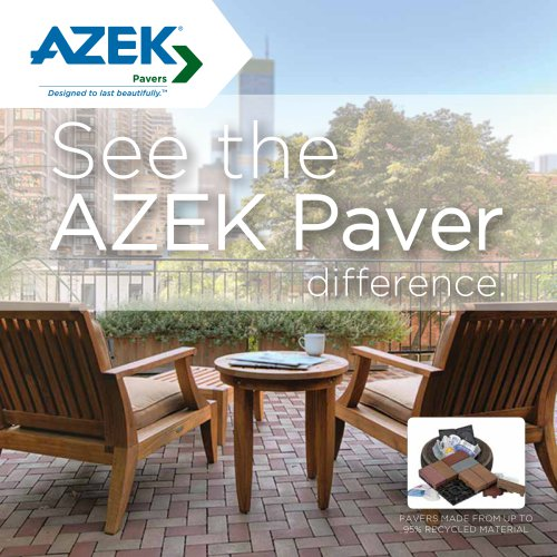 See the AZEK Paver difference