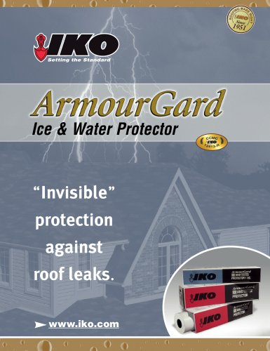 ArmourGard Protecteur de luxe contre l'eau et la glace