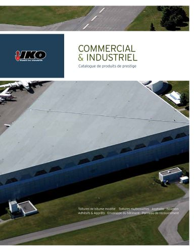 COMMERCIAL & INDUSTRIEL Catalogue de produits de prestige