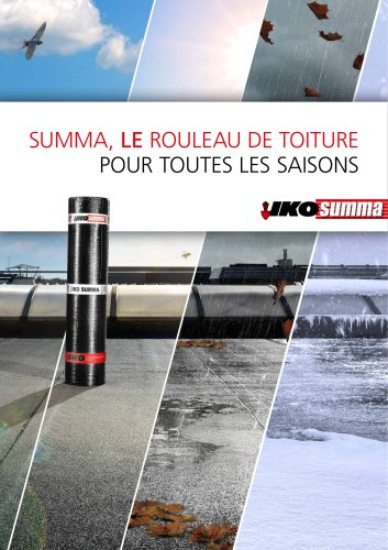 IKO summa brochure