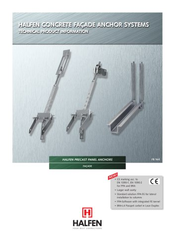 HALFEN Precast Panel Anchors