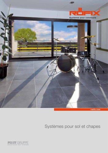 Systèmes pour sol et chapes
