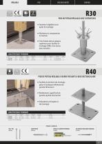 Catalogue Des Pieds De Poteaux - 9