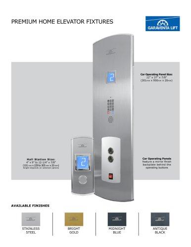 PREMIUM HOME ELEVATOR FIXTURES