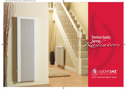 Electric Combination Radiator Systems