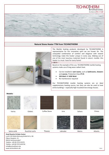 Natural Stone Heater