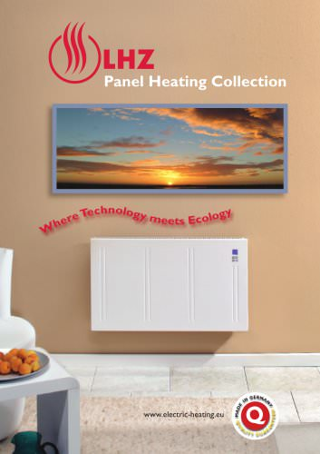 Panel Heating Collection 2013