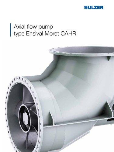 Axial flow pump type Ensival Moret CAHR