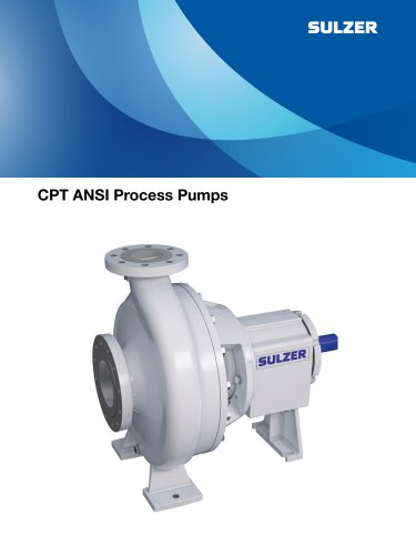 CPT ANSI Process Pumps
