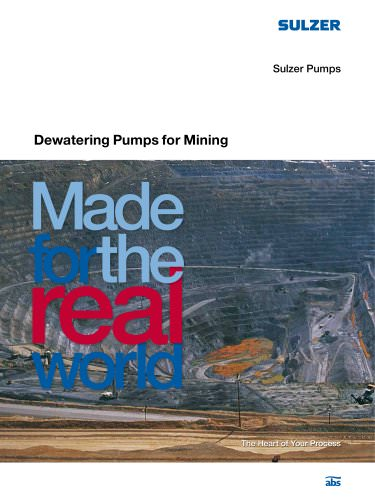 Dewatering Pumps for Mining