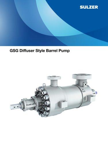 GSG Diffuser Style Barrel Pump