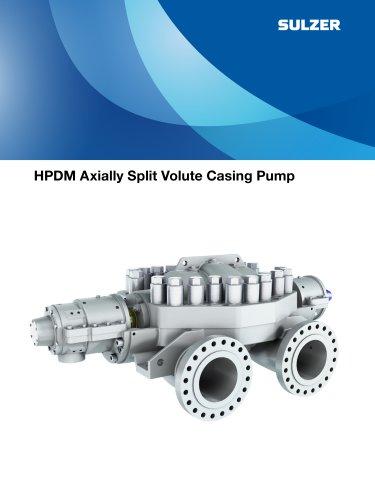 HPDM Axially Split Volute Casing Pump Brochure