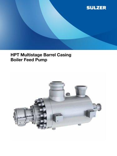 HPT Multistage Barrel Casing Boiler Feed Pump