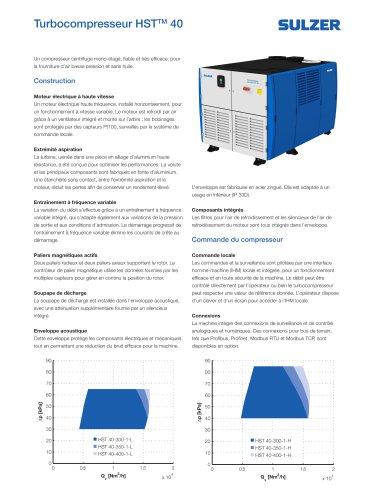 HST 40 turbocompressor