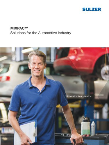 MIXPAC™ - Solutions for the Automotive Industry