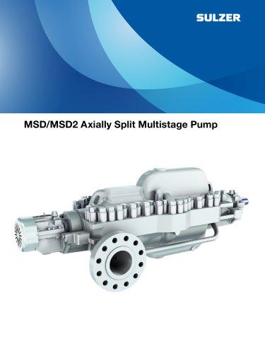 MSD Axially Split Multistage Pump