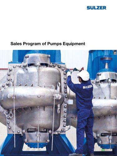 Sales Program of Pumps Equipment