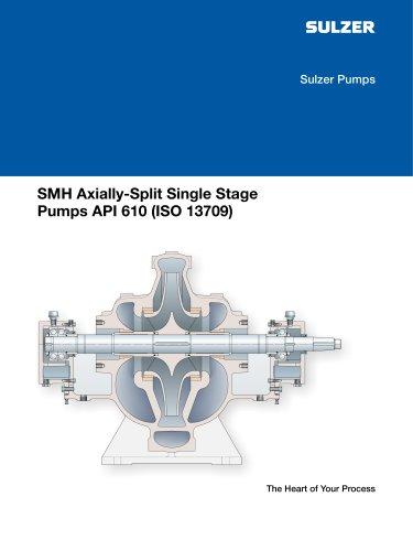 SMH Axially-Split Single Stage Pumps API 610