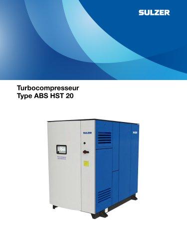 Turbocompressor Type ABS HST 20