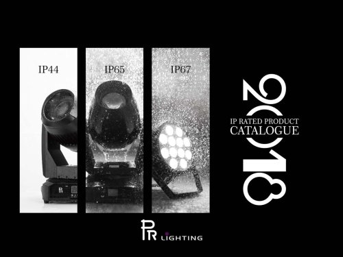 IP RATED PRODUCT CATALOGUE 2018