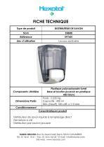 Distributeur de savon ABS SN840