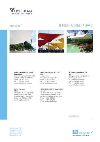 duraskin® B 19511/ B 4951/ B 69512