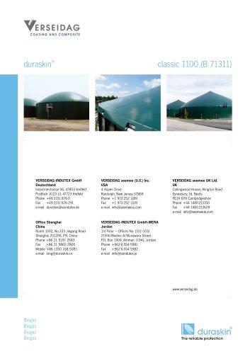 duraskin® classic 1100