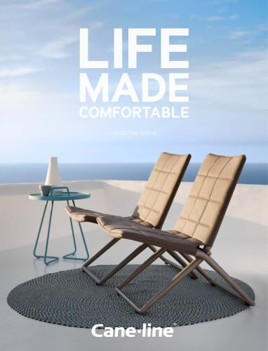 Outdoor furniture catalogue 2014
