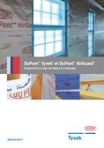 DuPontTM Tyvek® et DuPontTM AirGuard®