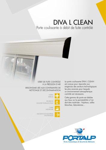 PORTALP - Portes Automatiques Diva L CLEAN
