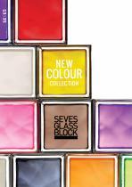 Nouvelle gamme de briques de verre New Color