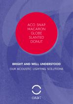 ORBIT- Acoustic lighting solutions