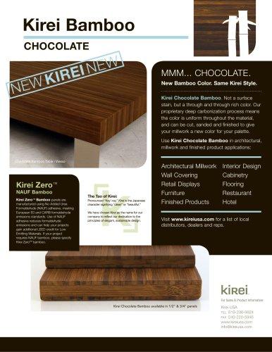 kirei bamboo chocolate