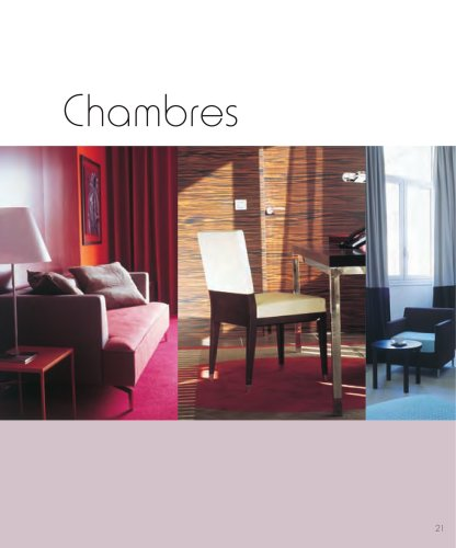 Roset Contract- Hotel Design, Chambres