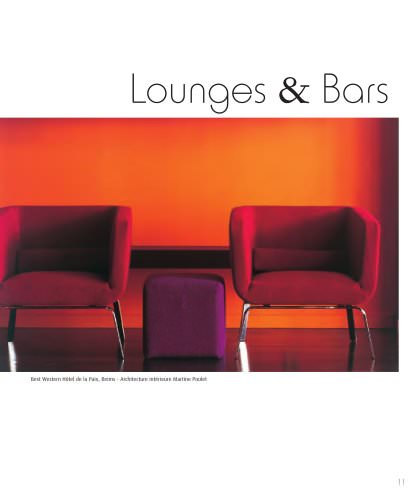 Roset Contract- Hotel Design, Lounges & Bars