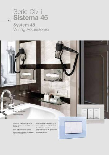 2018/19 General Catalogue - System 45 Wiring Accessories