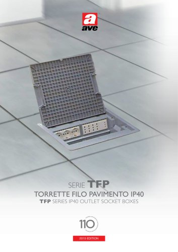 TFP Series - IP40 Outlet Socket Boxes