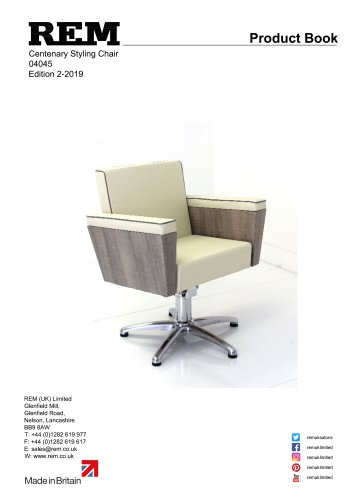 Centenary Styling Chair