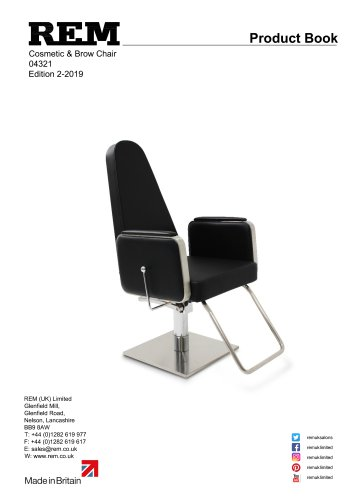 Cosmetic & Brow Chair