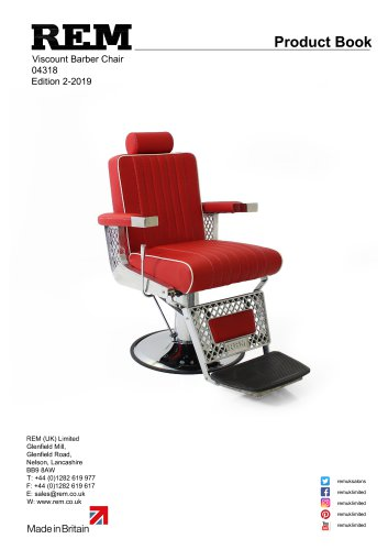 Viscount Barber Chair