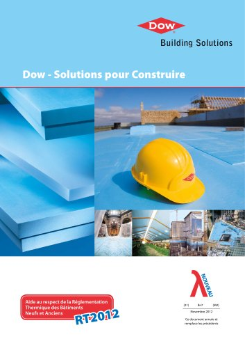 Dow - Solutions pour Construire