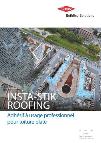 INSTA-STIK ROOFING Adhésif à usage professionnel pour toiture plate